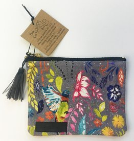 SIP Goods Happy Hummingbird Mini Pouch