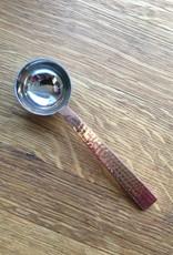 Copper & Silver Coffee Scoop
