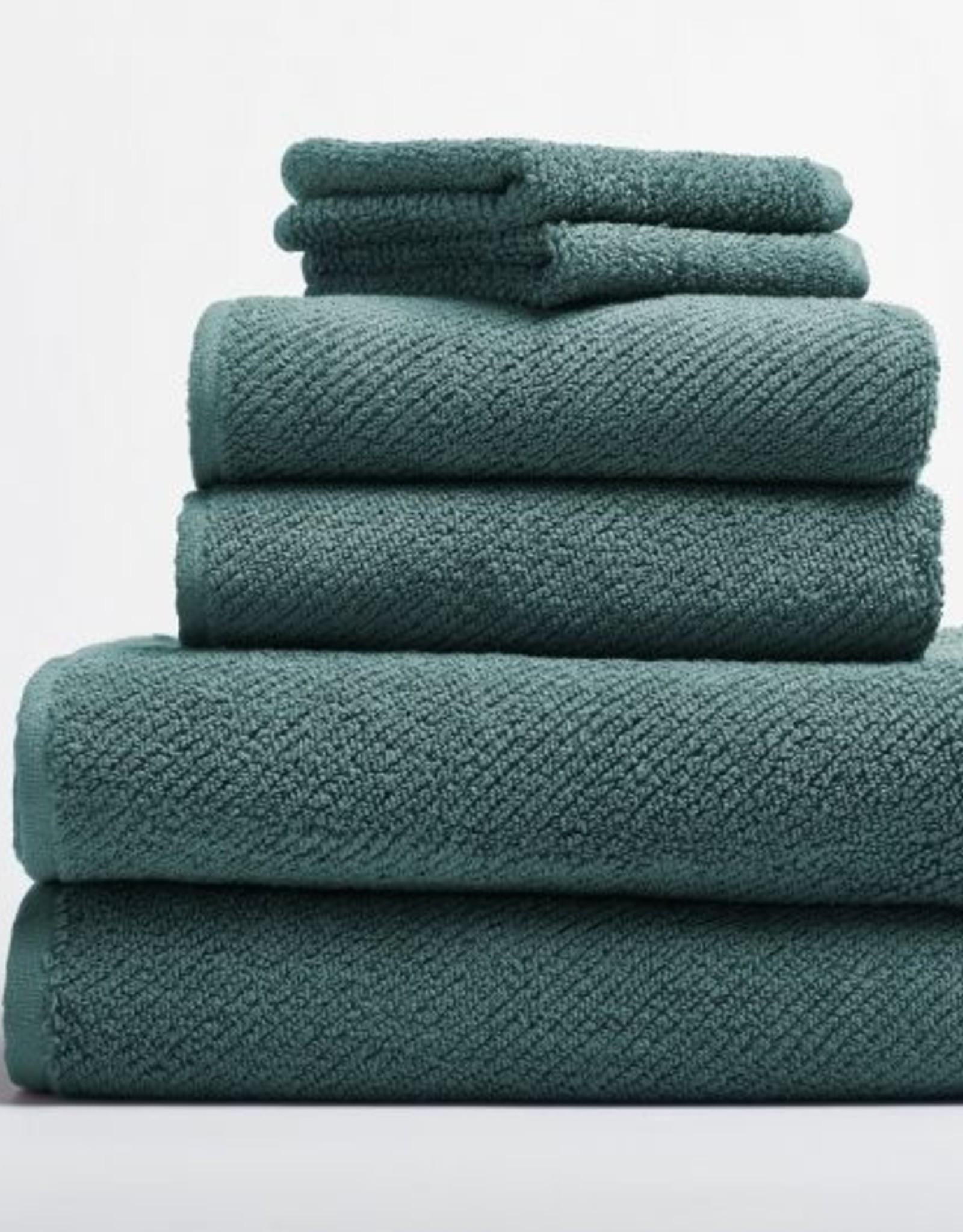 Air Weight 6pc Towel Set- Deep Dusty Aqua