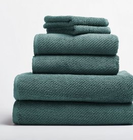 Air Weight 6pc Towel Set- Deep Dusty Aqua