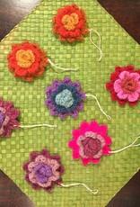 Crochet Flower Ornament
