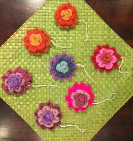 Crochet Flower Ornament