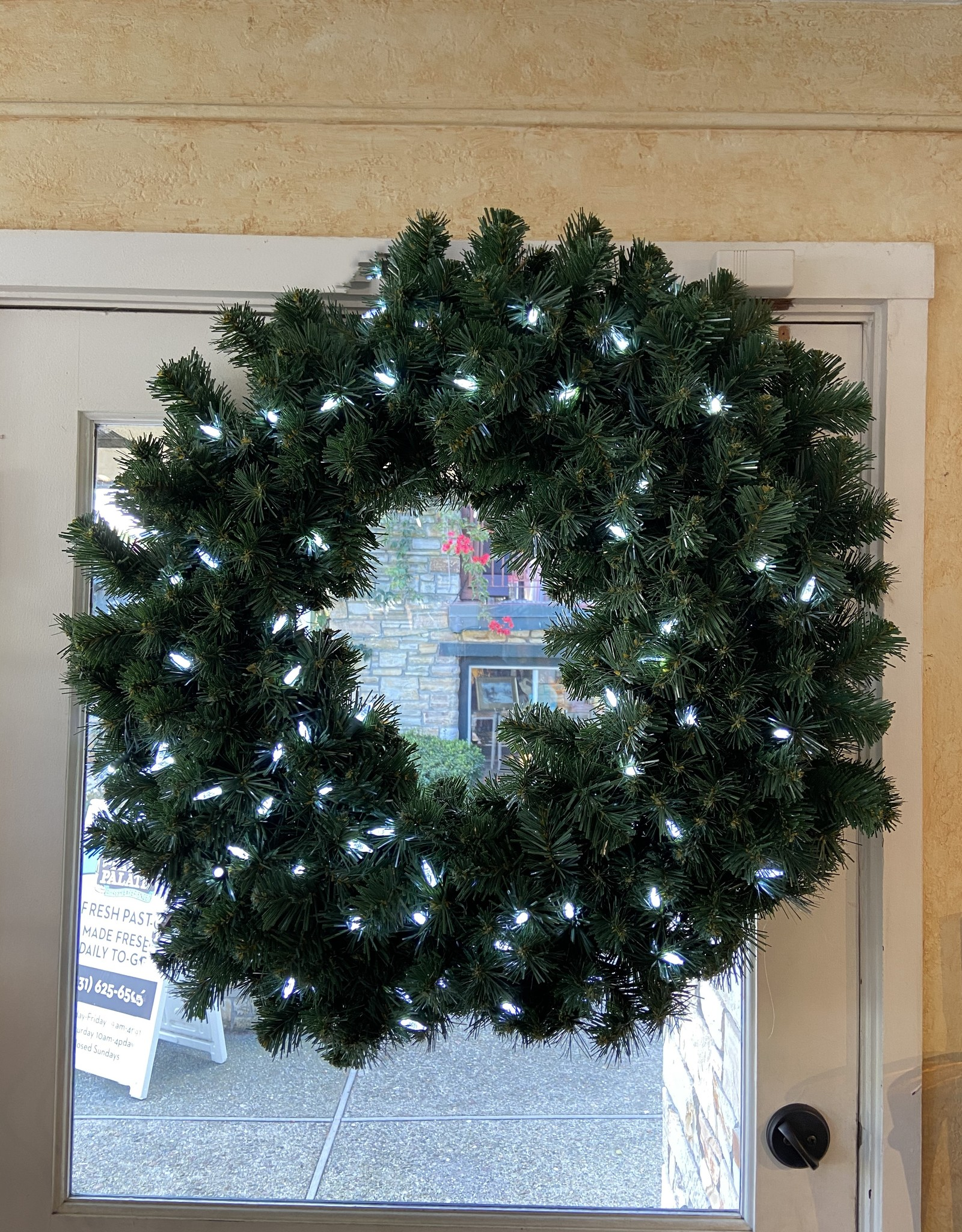 LED Wreath 36""