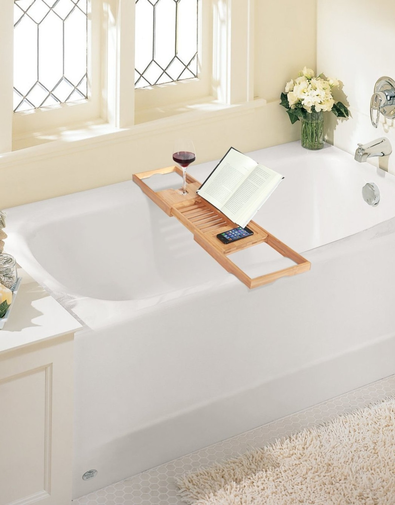 ToiletTree Bamboo Bath Tray