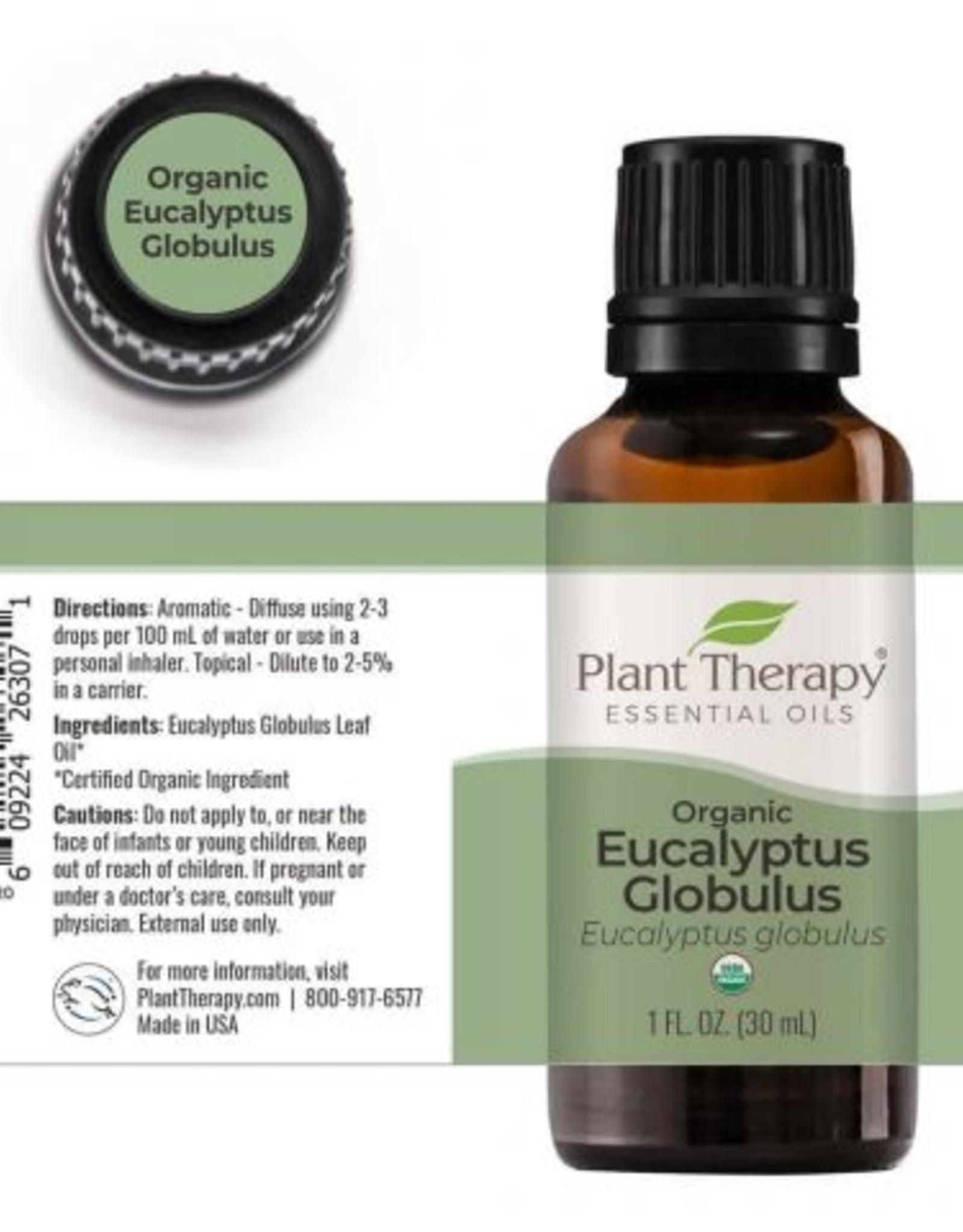 Plant Therapy Organic Eucalyptus Essential Oil 30ml