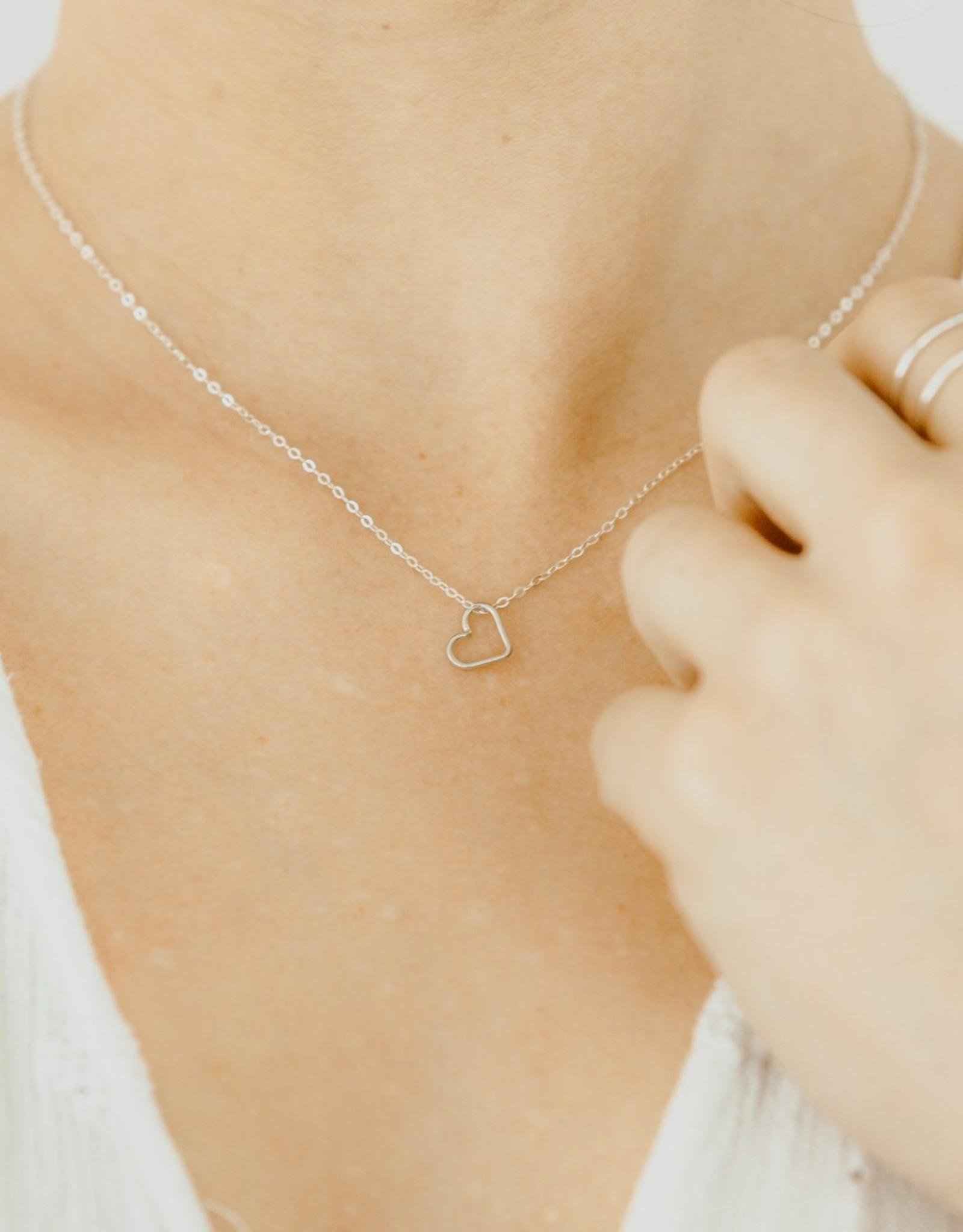Lucky Mini Heart Necklace