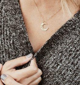 Wandering Moon Necklace