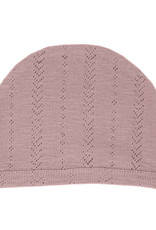 L'oved Baby Pointelle Hat Thistle