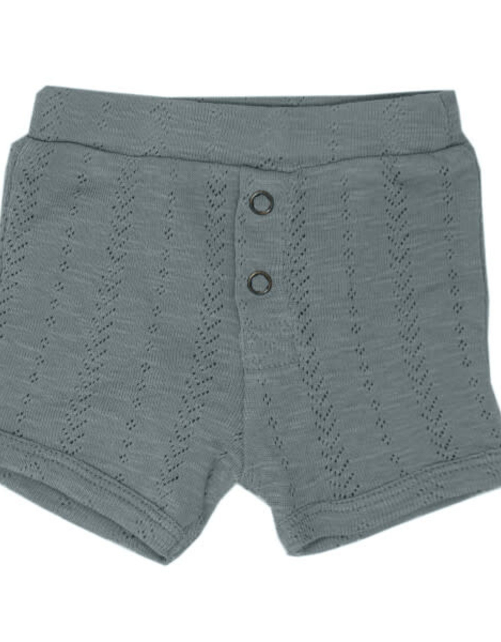 L'oved Baby Pointelle Shorts Moonstone
