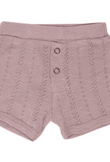 L'oved Baby Pointelle Shorts Thistle
