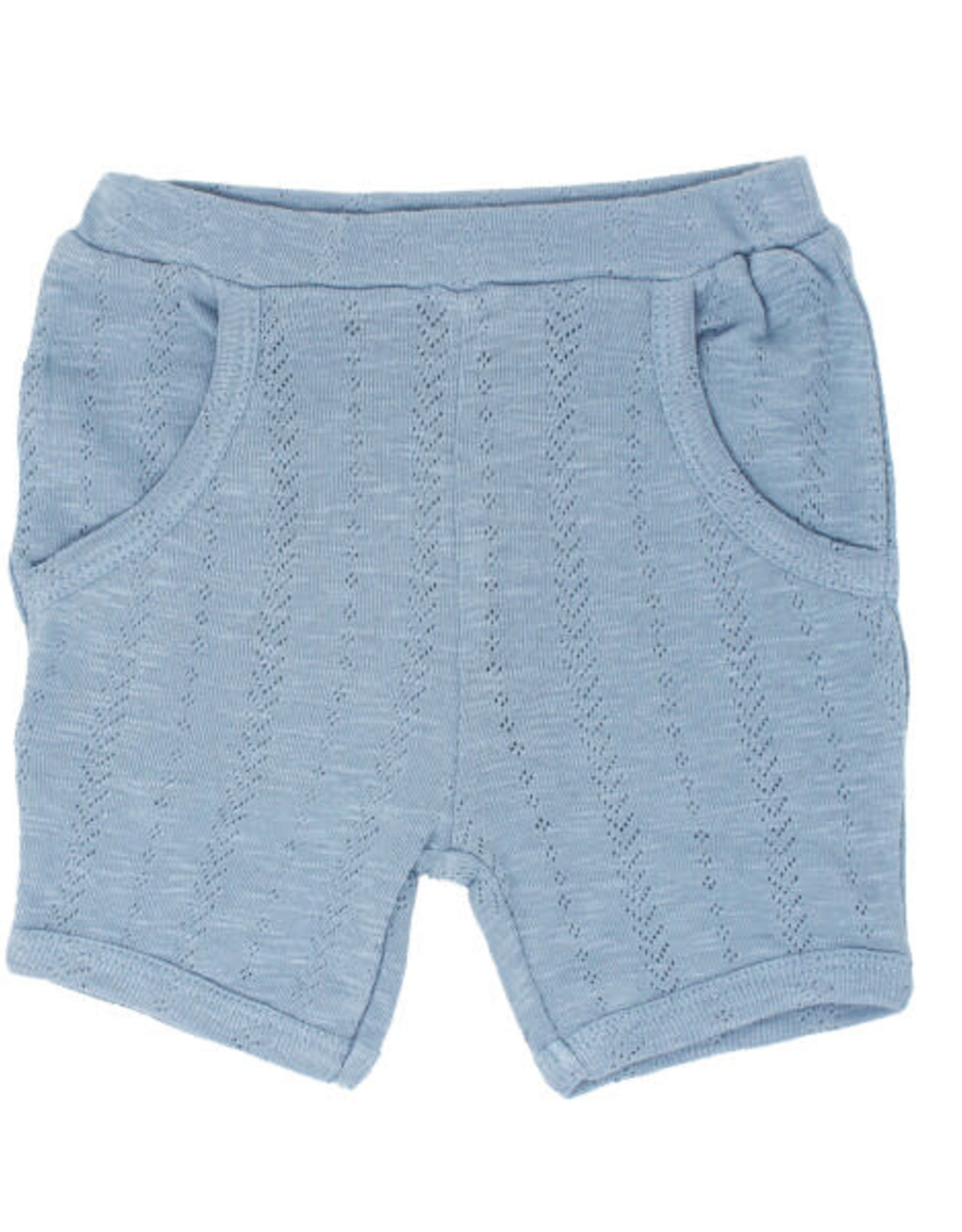 L'oved Baby Pointelle Shorts Pool