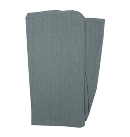 L'oved Baby Pointelle Swaddle Blanket Moonstone