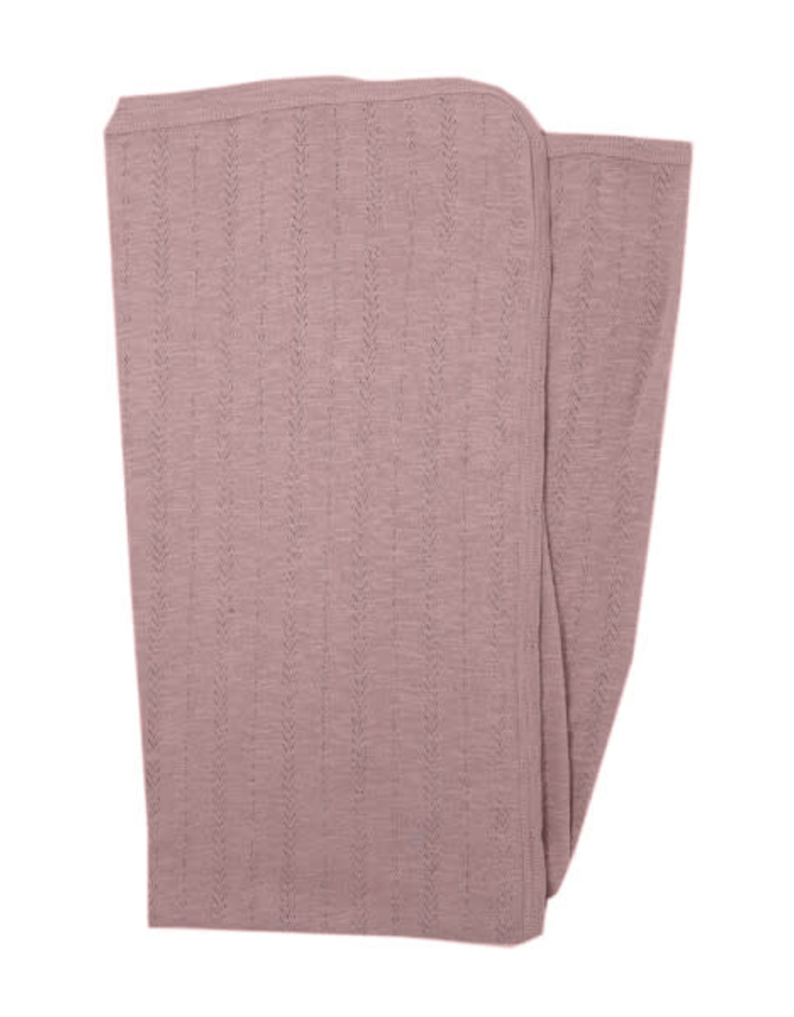 L'oved Baby Pointelle Swaddle Blanket Thistle