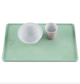 Hevea Colorful Natural Rubber Placemat