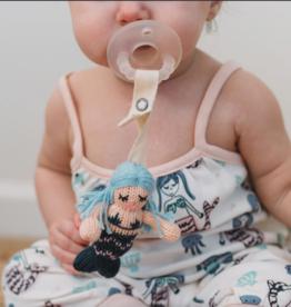 Finn & Emma Pacifier Holder  Penelope the Mermaid