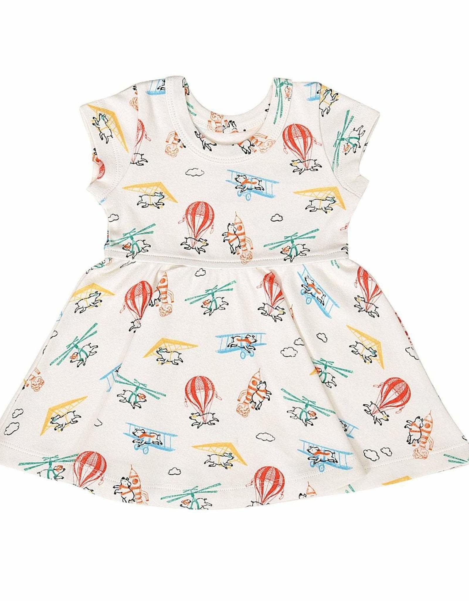Finn & Emma Flying Pigs Twirl Dress