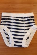Training Pant 12-24m Navy Stripe