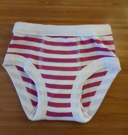 Training Pant 12-24m Fuchsia Stripe