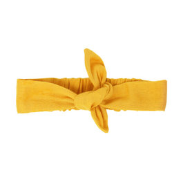 L'oved Baby Muslin Tie Headband Saffron