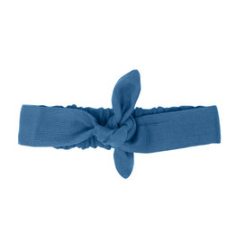 L'oved Baby Muslin Tie Headband Pacific