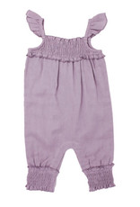 L'oved Baby Kids' Muslin Sleeveless Romper Amethyst