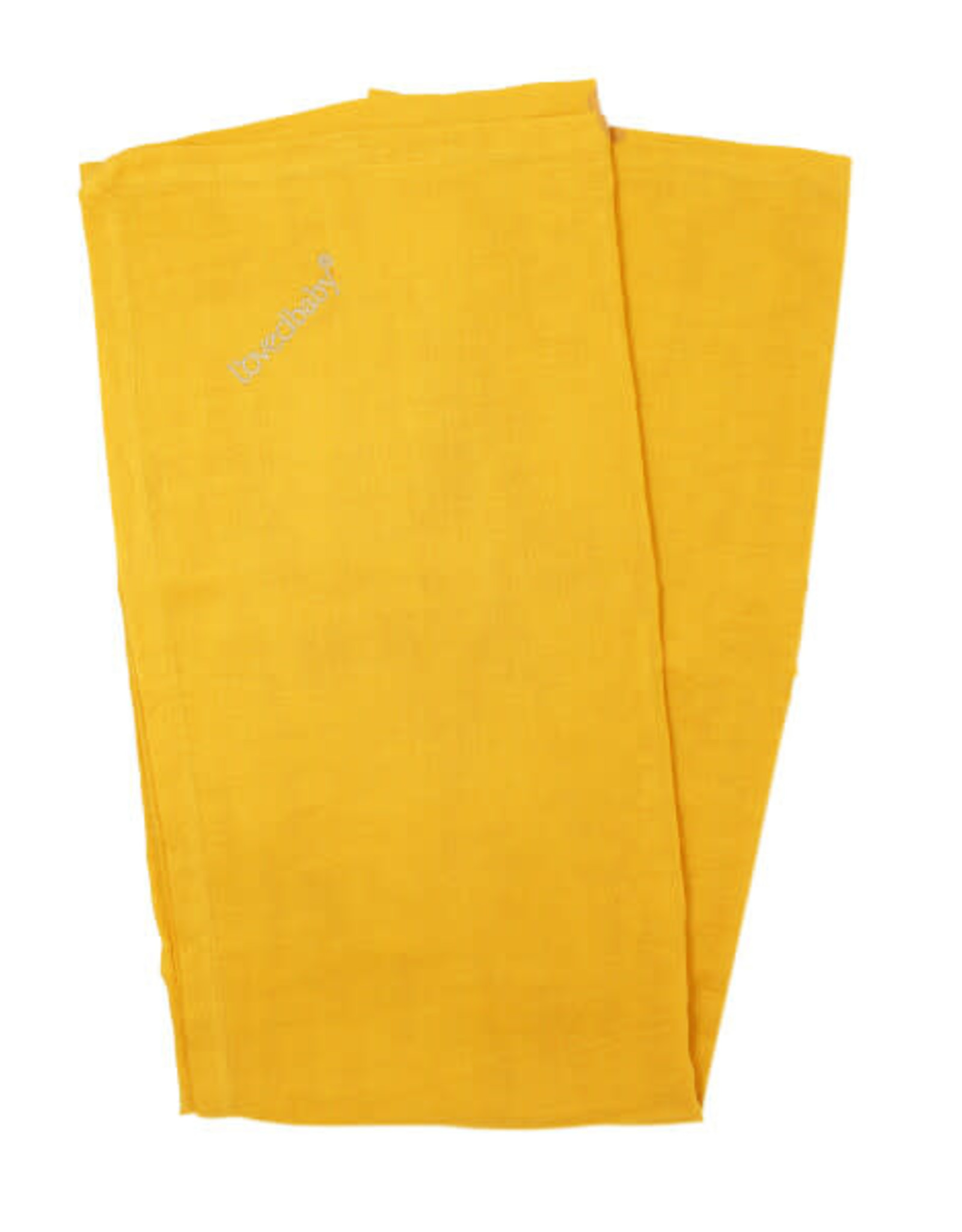 L'oved Baby Muslin Security Blanket Saffron