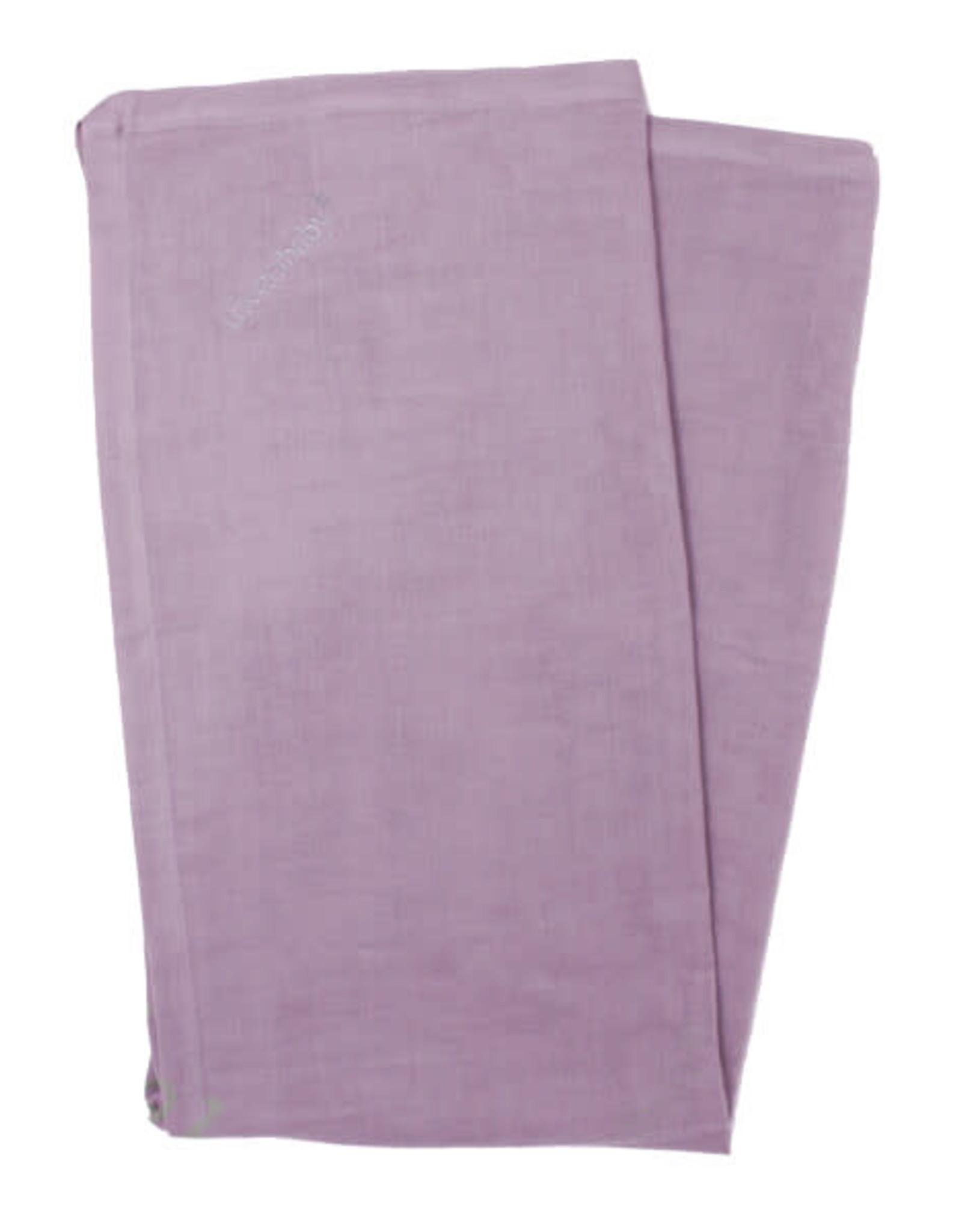 L'oved Baby Muslin Security Blanket Amethyst