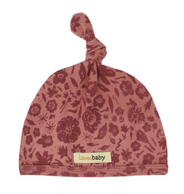 L'oved Baby Knot Hat What in Carnation?