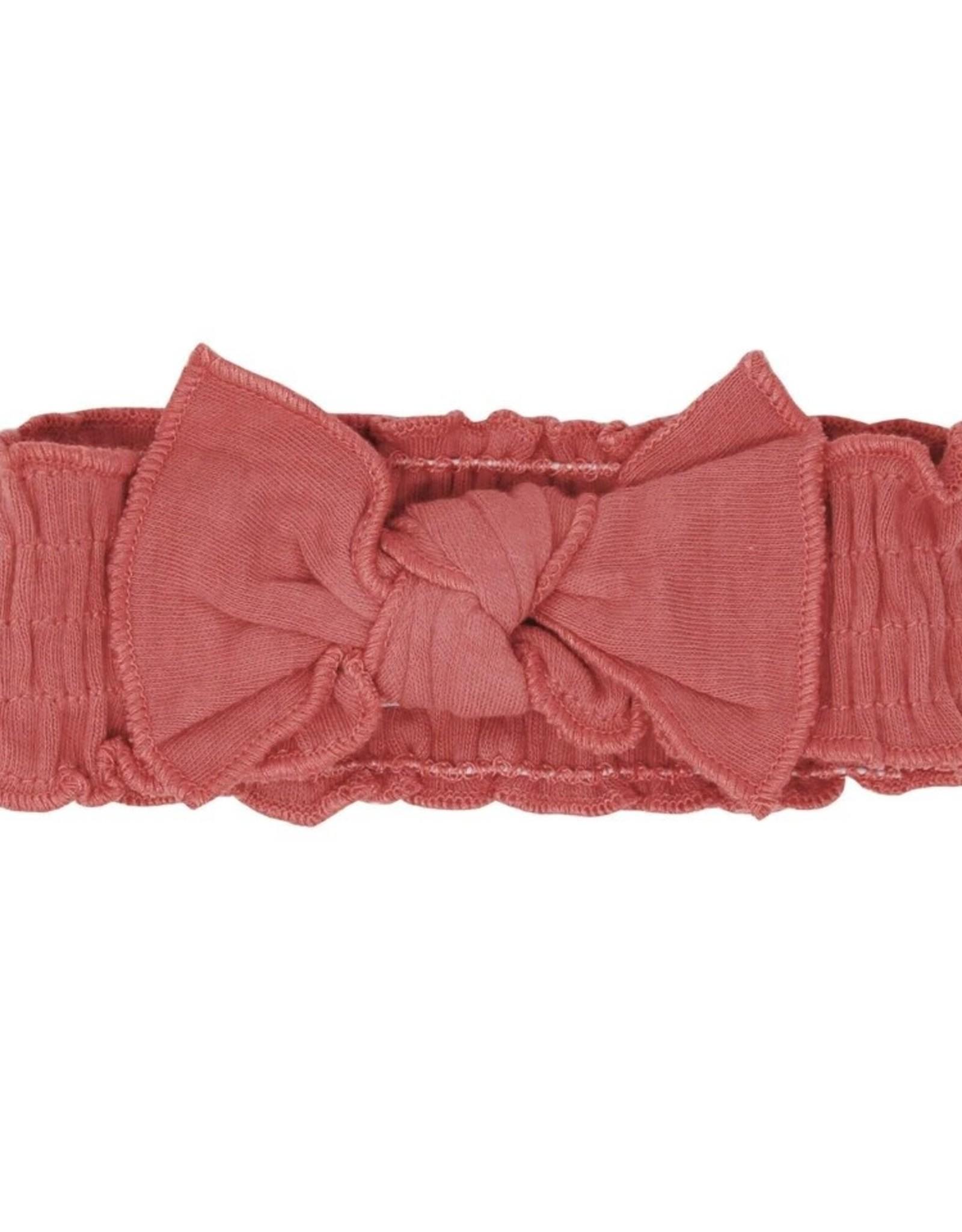 L'oved Baby Smocked Tie Headband Sienna