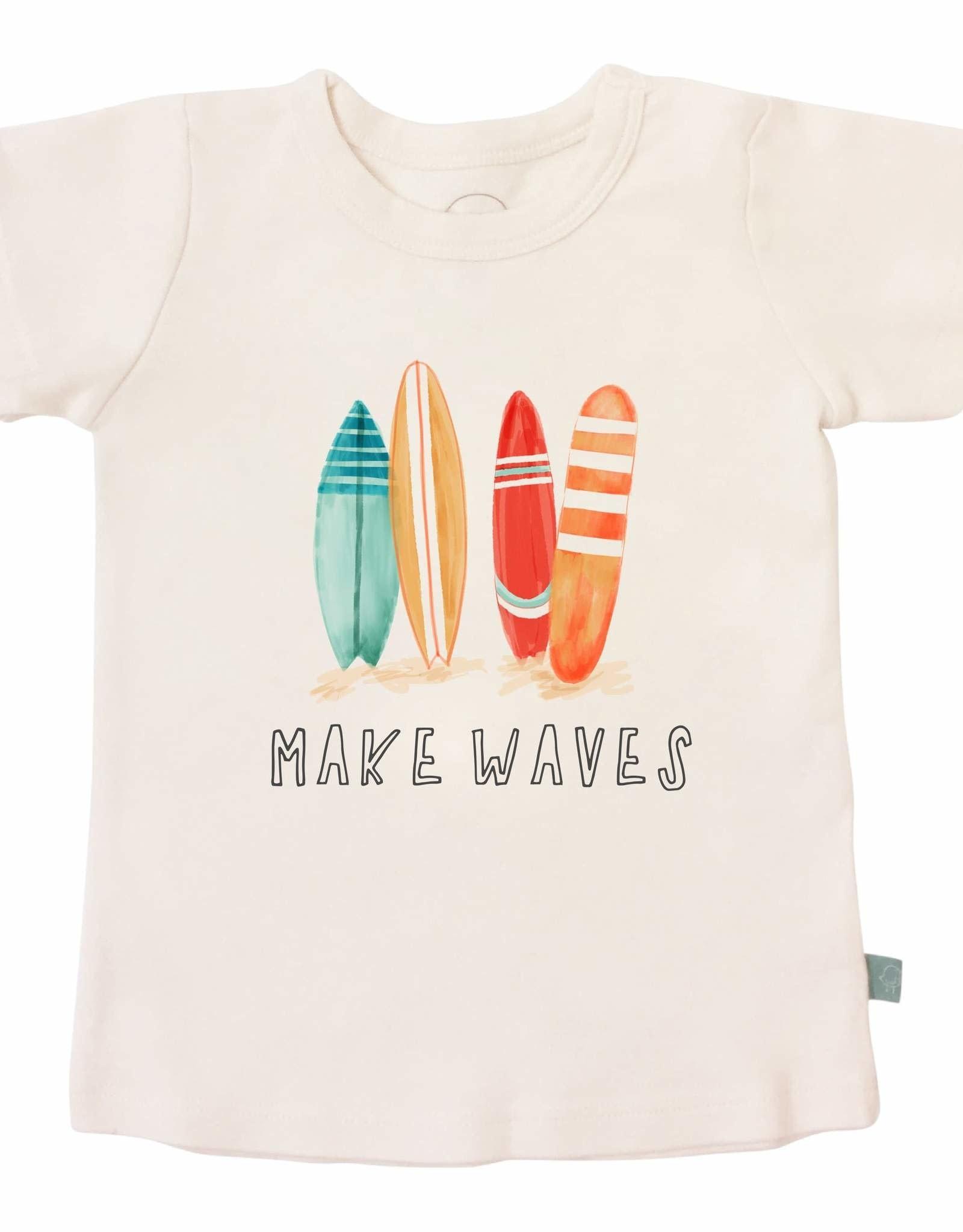 Finn & Emma Make Waves Tee