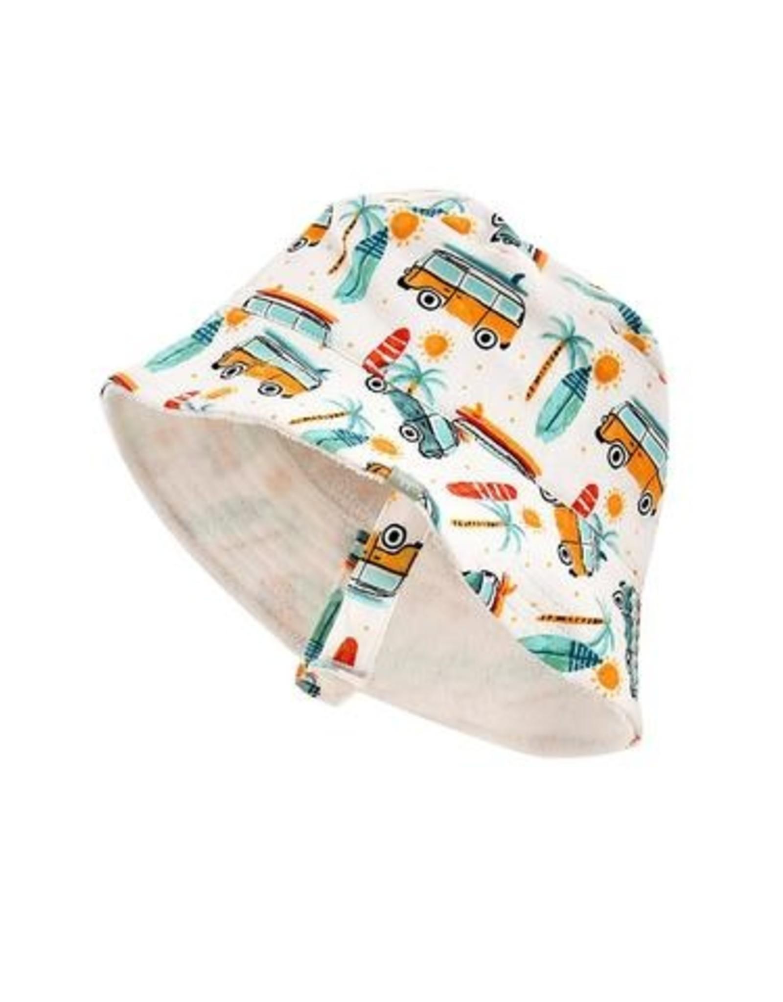 Finn & Emma Summer Surf Reversible Bucket Hat