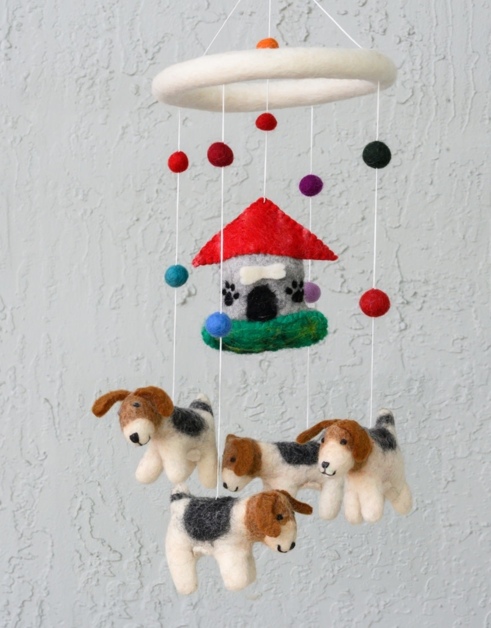 The Winding Road Wool Mobile - Dogs