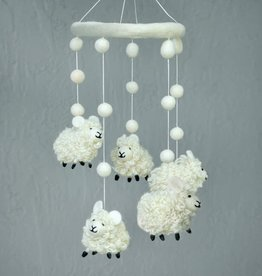The Winding Road Wool Mobile - Sheep