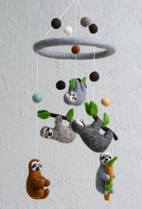 The Winding Road Wool Mobile - Sloth