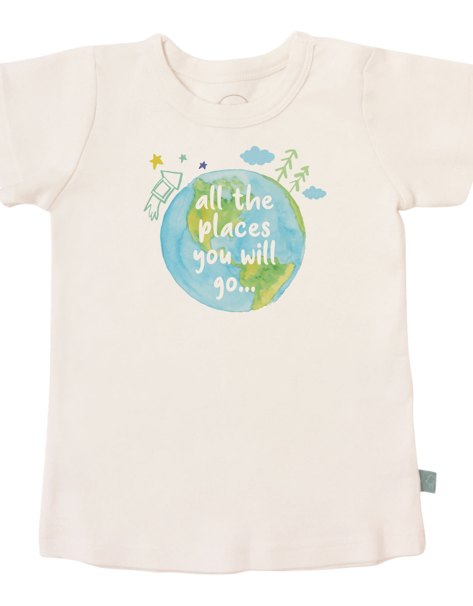 Finn & Emma Places You Will Go Tee