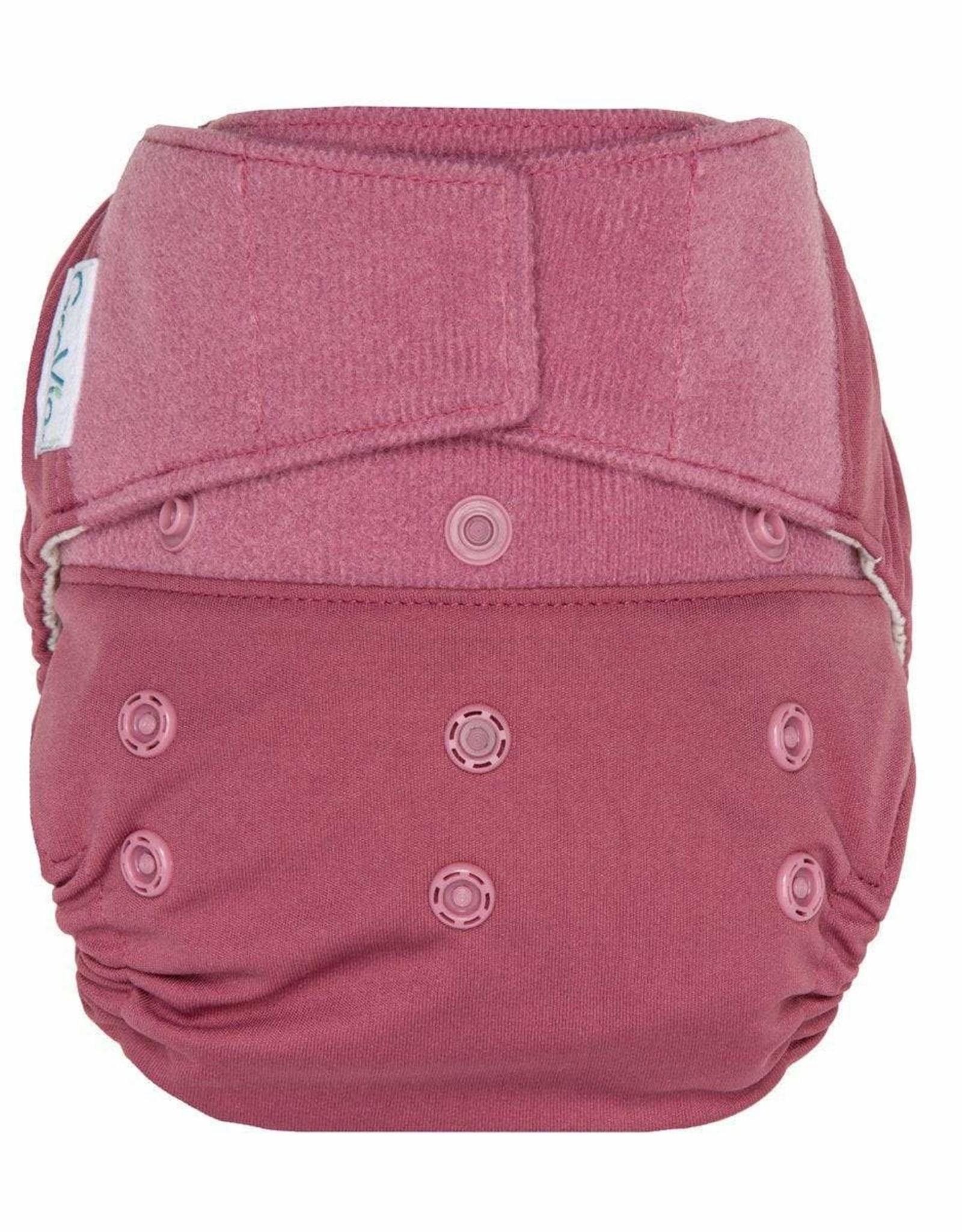 Hook & Loop Hybrid Cloth Diapers- Petal