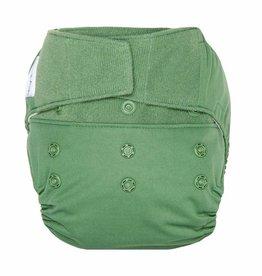 Hook & Loop Hybrid Cloth Diapers- Basil