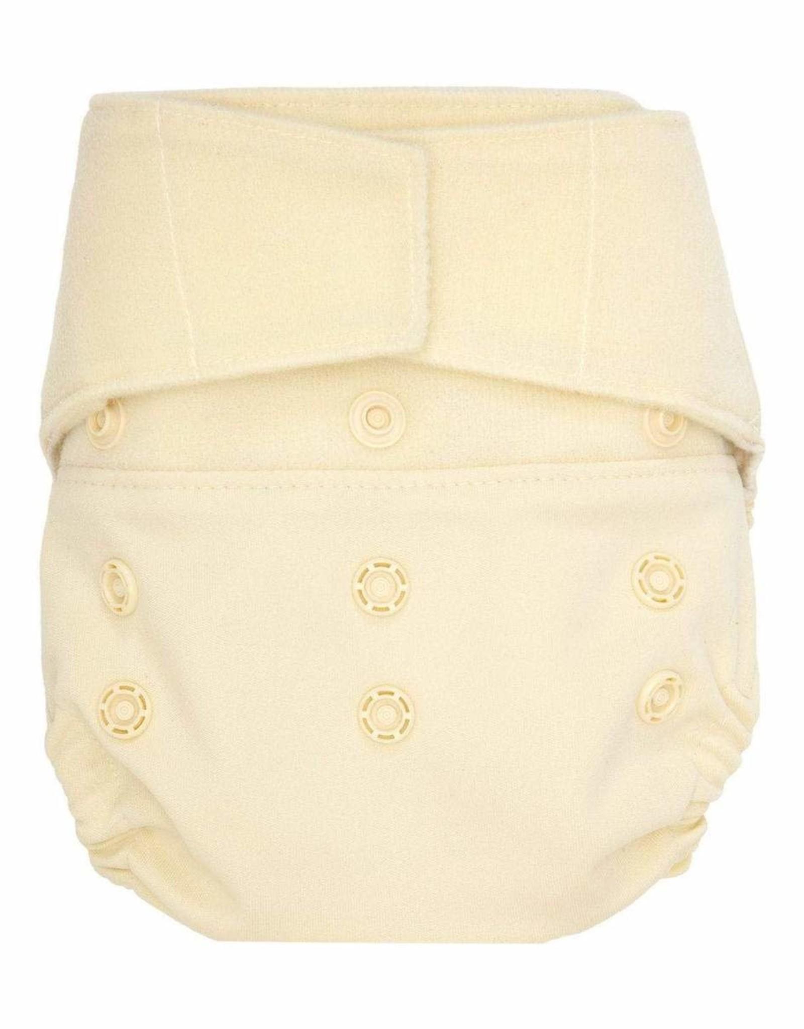 Hook & Loop Hybrid Cloth Diapers- Vanilla