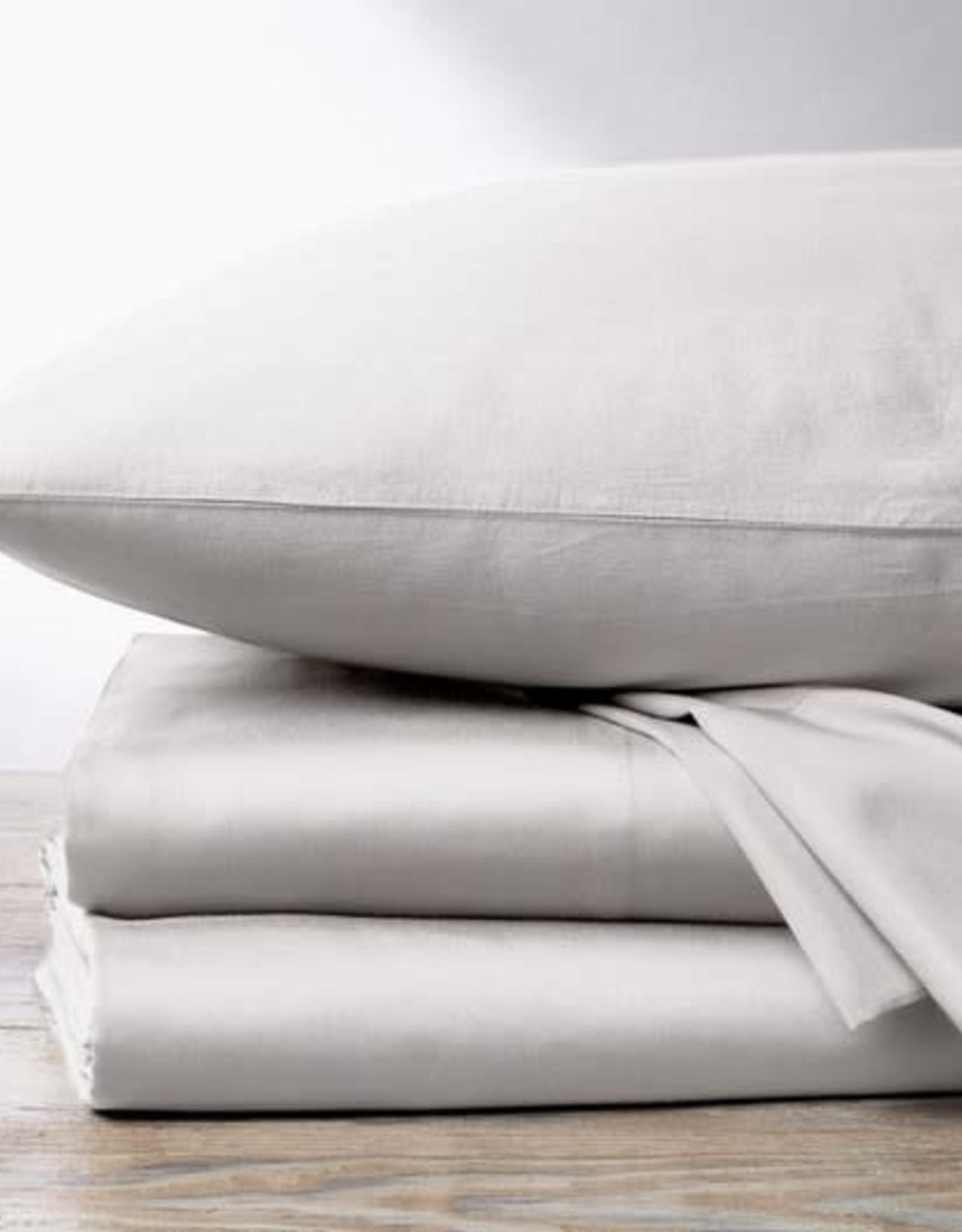 300TC Sateen Sheet Set Pale Gray