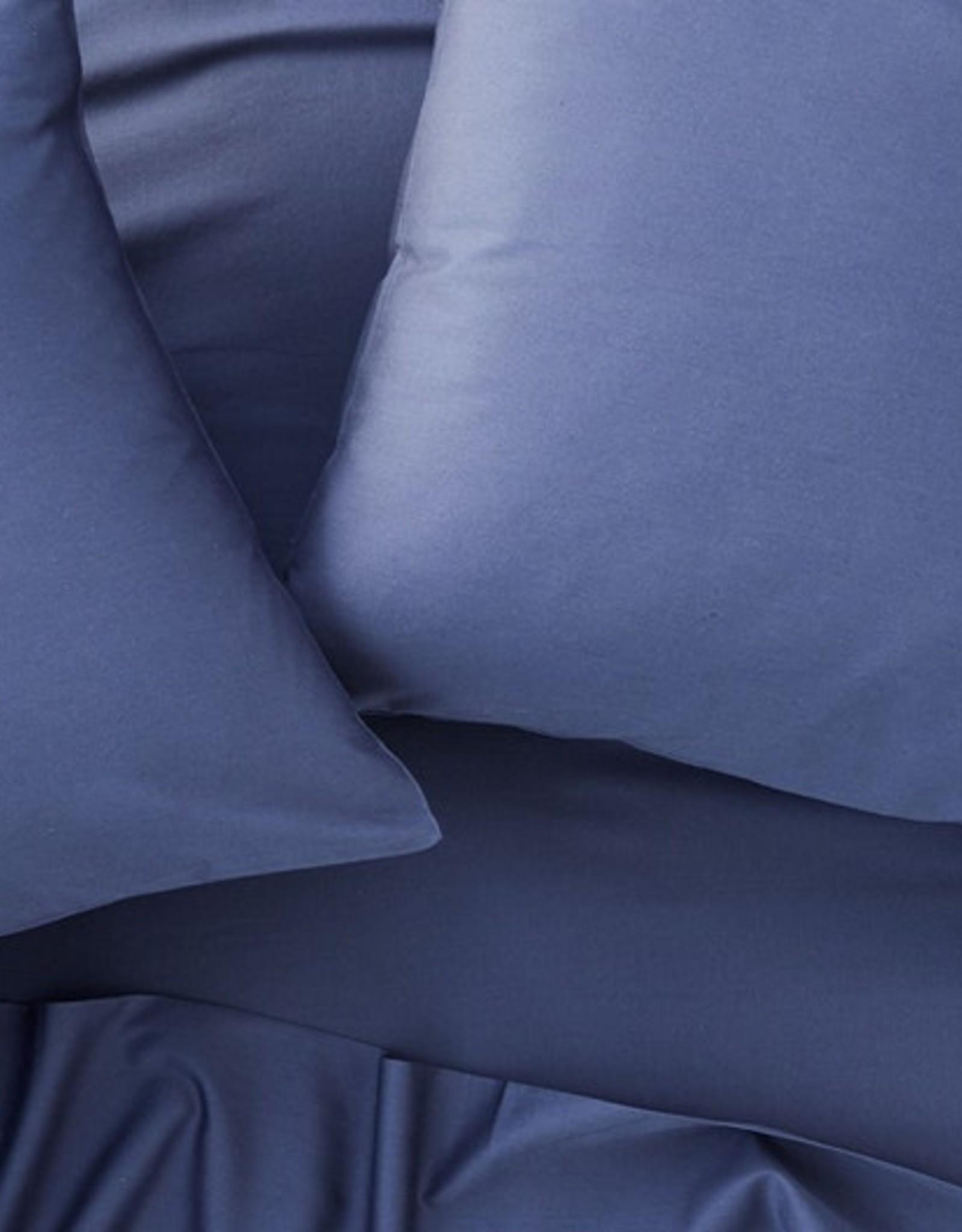 300TC Sateen Pillowcase Set Moonlight Blue
