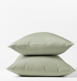 300TC Percale Pillowcase Set Laurel