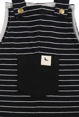 Turtledove London Black Stripe Dungaree 5-6y