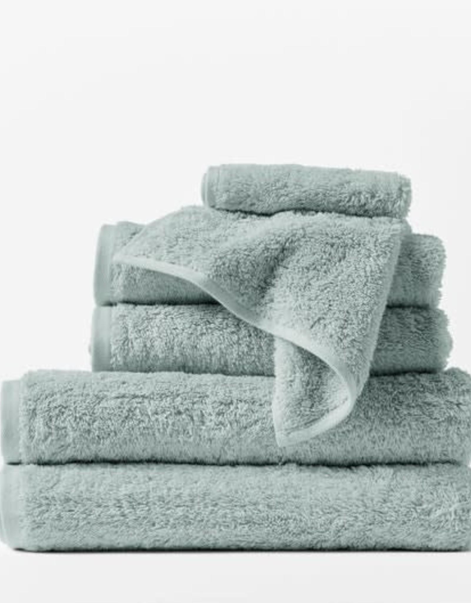 Cloud Loom Towels Palest Ocean