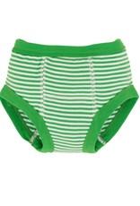 Training Pant Green Stripe