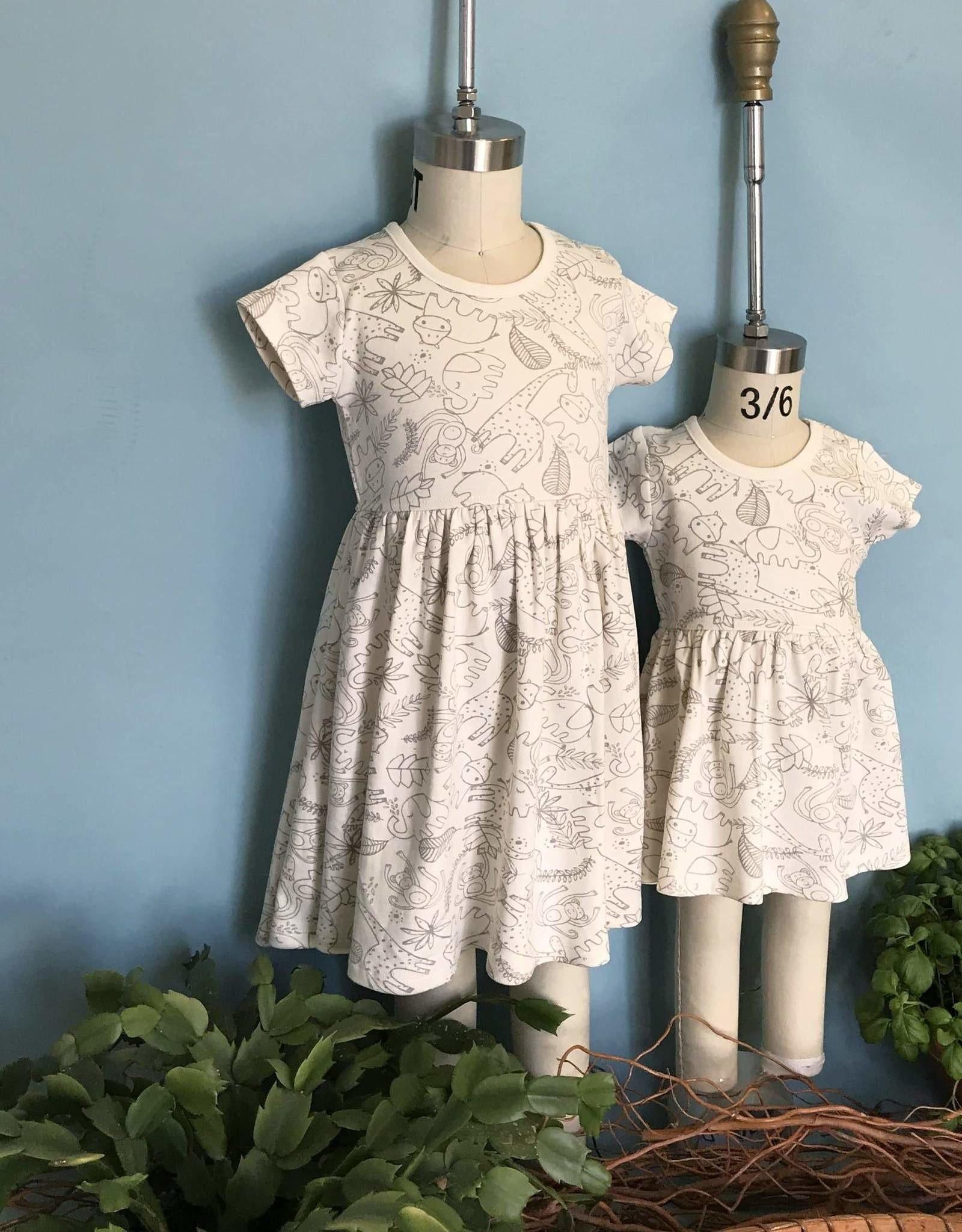 Finn & Emma Jungle Twirl Dress