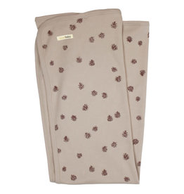 L'oved Baby Oatmeal Pinecone Swaddle Blanket