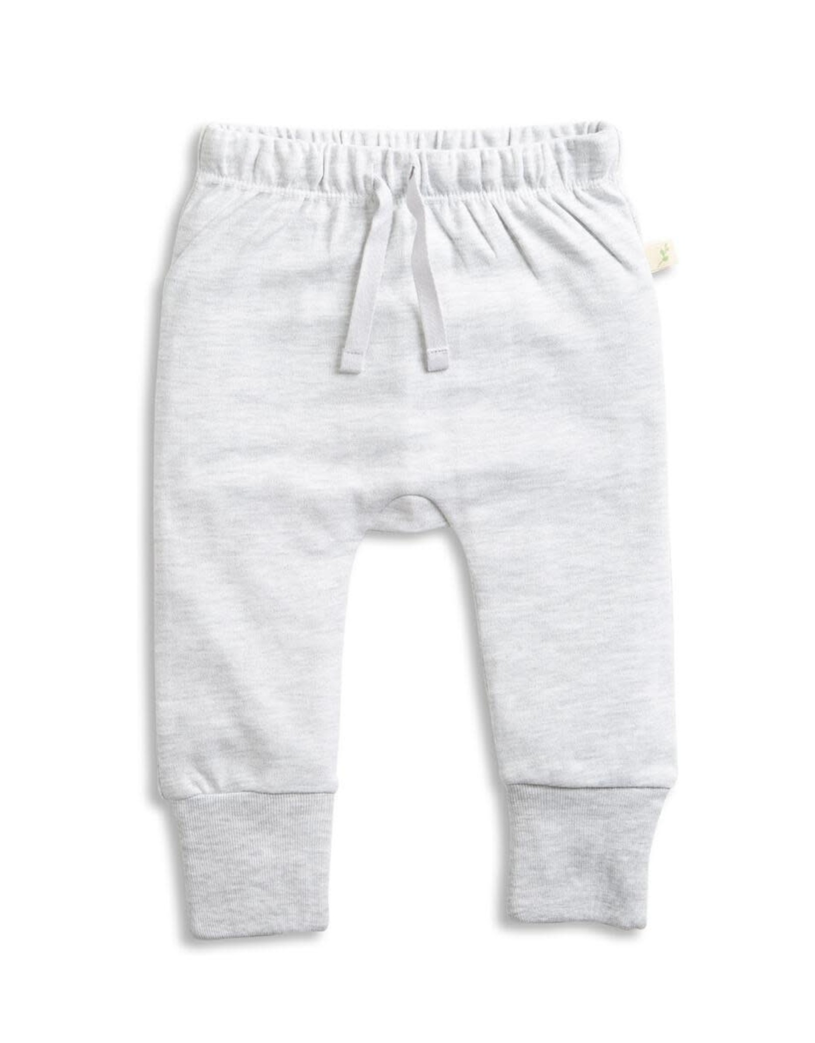 Tiny Twig Light Gray Marle Harem Pant with Cuffs