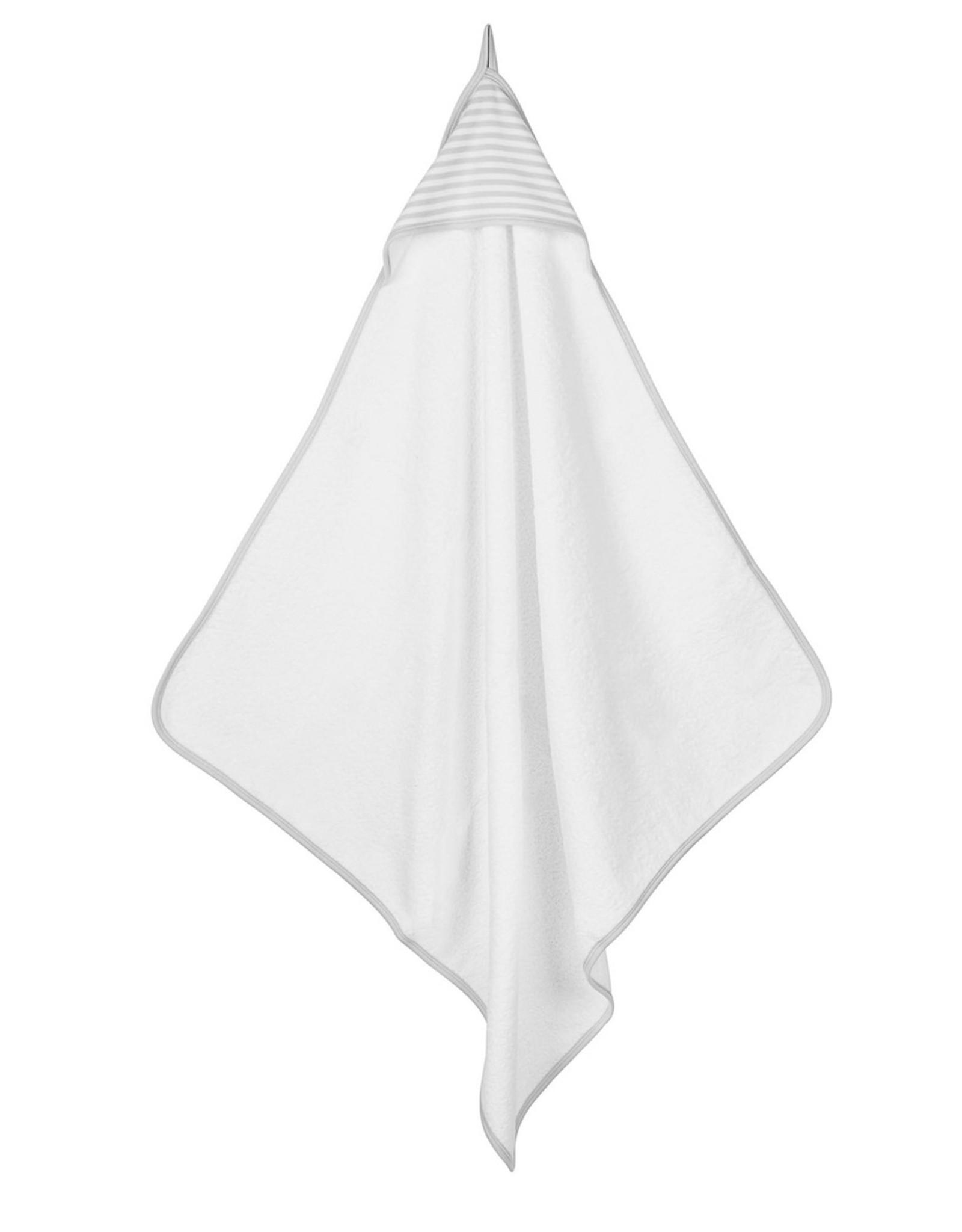 Hooded Towel- Gray