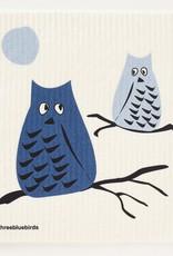 Three Bluebirds Three Bluebirds Swedish Towels- Animal Designs