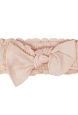 L'oved Baby Smocked Tie  Headband Rosewater